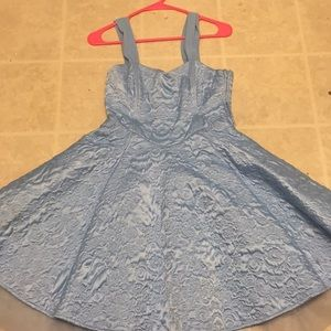 Cinderella Ballgown with corset back